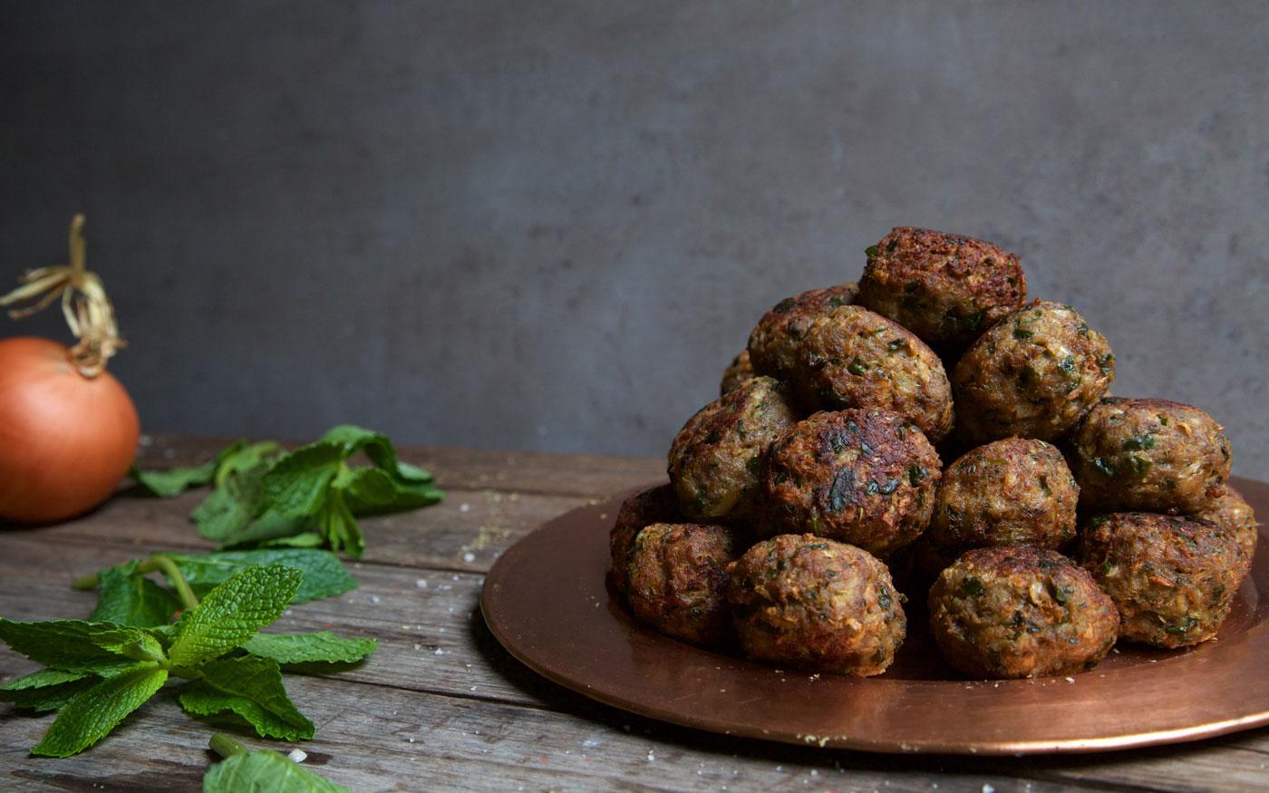 KO's Greek Meatballs