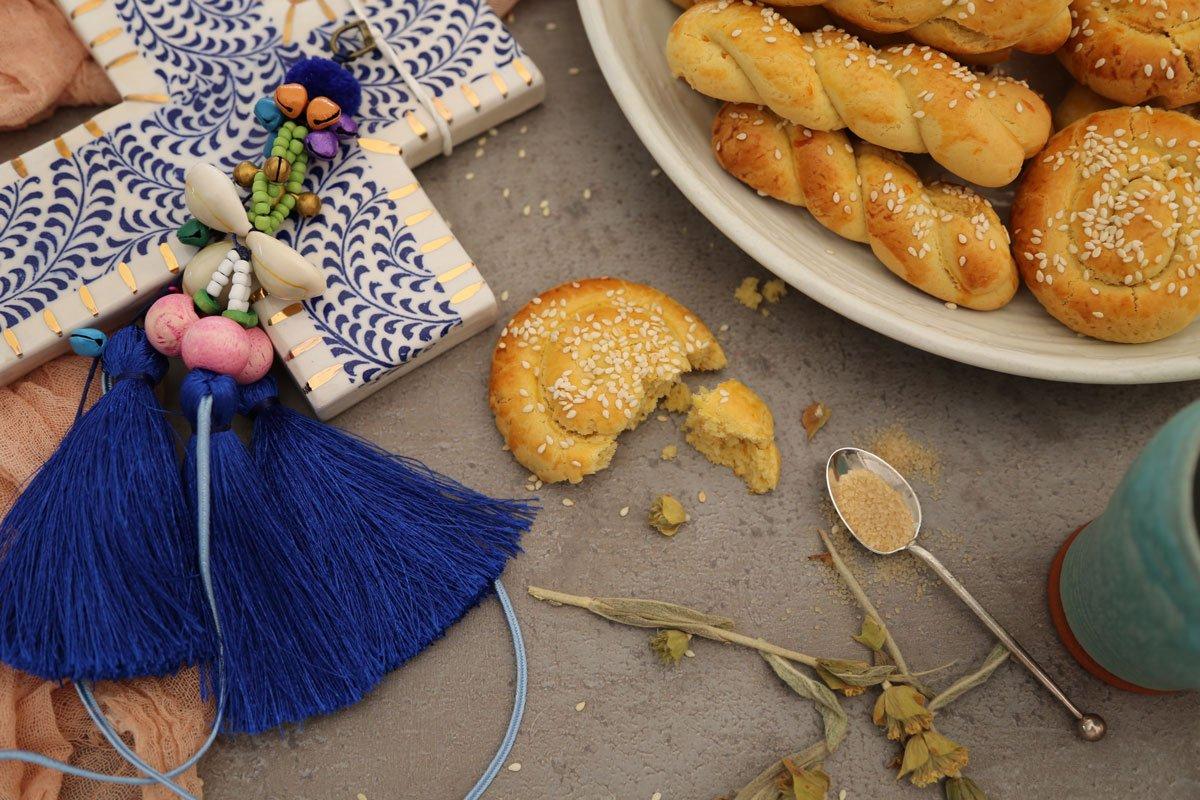 Greek Easter cookies Koulourakia
