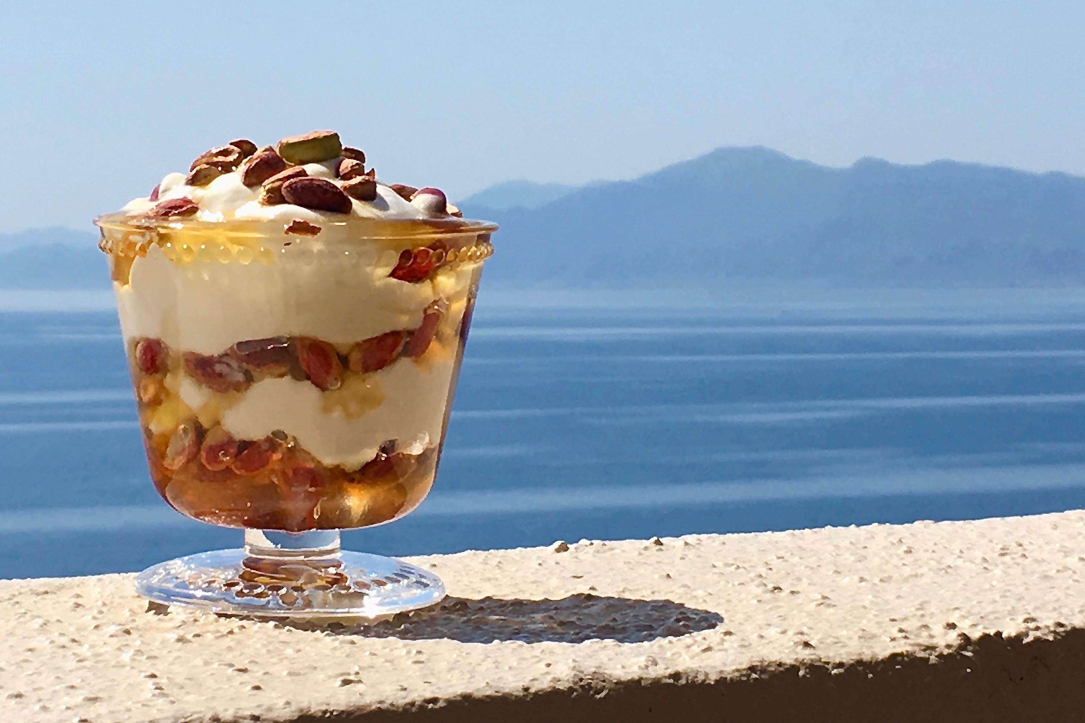 KO's Yoghurt, Honey and Pistachios